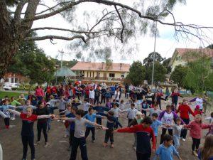 Núcleo Protásio Alves/RS comemora Dia do Desafio e realiza várias atividades para combater o sedentarismo.