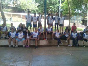 Eventos promovem interação entre alunos dos Núcleos Campinas/SP com muito minivôlei.