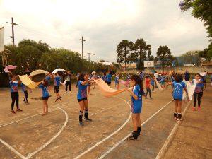 Oficinas lúdicas promovem interação entre alunos dos núcleos Londrina e Ribeirão do Pinhal.
