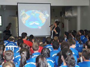 Palestra sobre meio ambiente é realizada durante Festival Internúcleos no Núcleo Pitanga/PR.